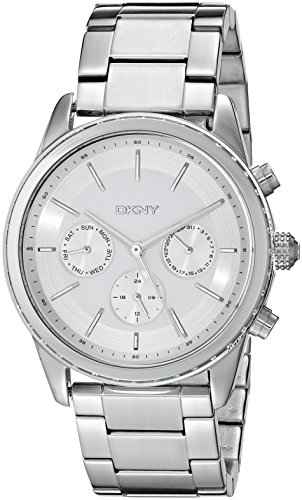 DKNY Women's NY2364 ROCKAWAY Silver Watch