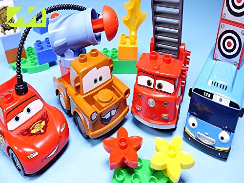 Clip: Lego Duplo & Lightning Mcqueen Tayo The Little Bus