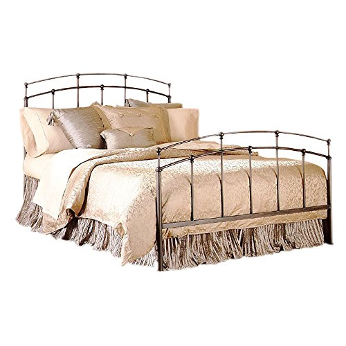 Steel Metal Queen Size Bed Frame With Headboard And Footboard Set ...