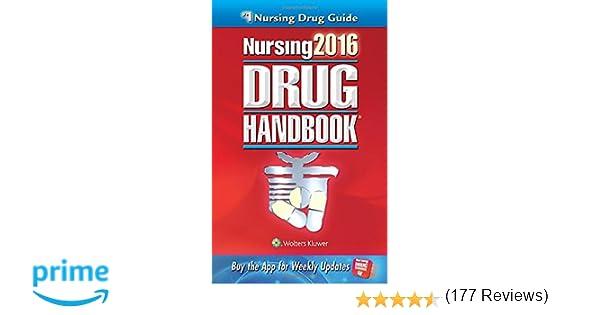 Nursing2016 drug handbook nursing drug handbook 9781469887043 nursing2016 drug handbook nursing drug handbook 9781469887043 medicine health science books amazon fandeluxe Images