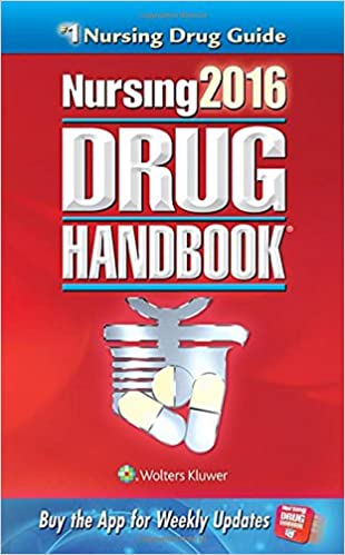 Nursing2016 drug handbook nursing drug handbook 9781469887043 nursing2016 drug handbook nursing drug handbook thirty sixth edition fandeluxe Images