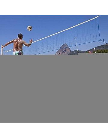 Fuitna Red de Voleibol de Playa Bádminton portátil Voleibol Malla de PVC Competencia estándar Red de