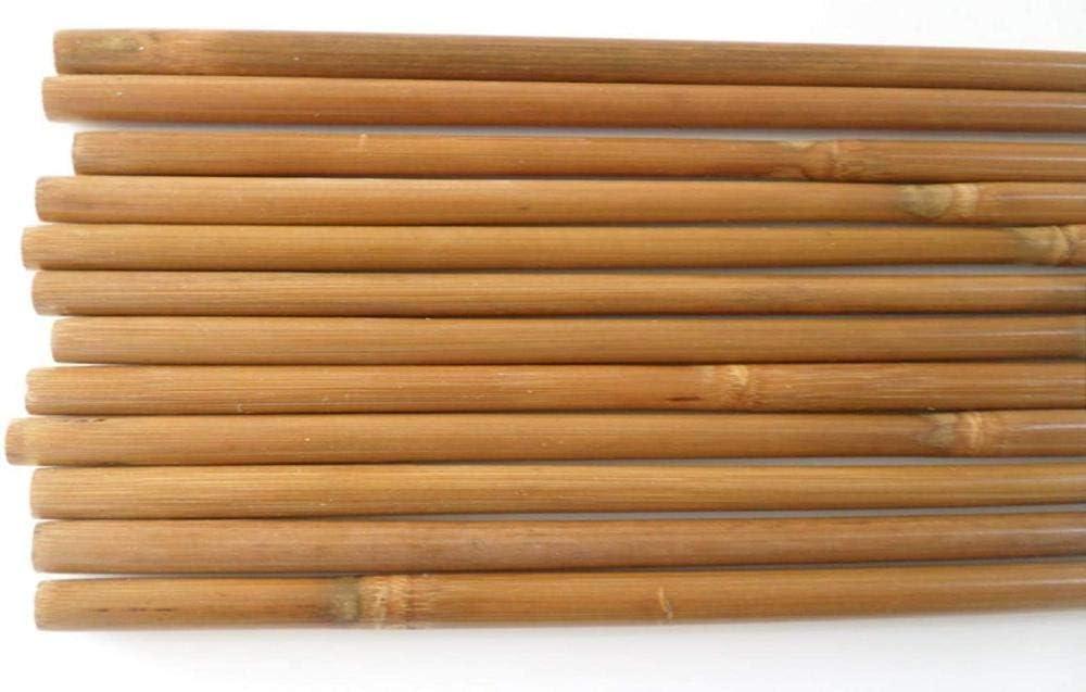 ZZUUS Eje de Flecha de bamb/ú para Bricolaje Arco Compuesto y Arco recurvo Flechas de aireaci/ón de bamb/ú para Arco Largo Equipo de Caza y pr/áctica de Tiro con Arco