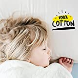 EXQ Home Toddler Pillow with Pillowcase