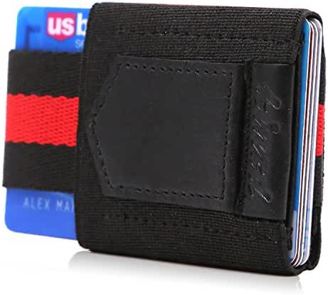 Minimalist Slim Wallet Credit Card Holder Front Pocket Wallet for Card Cash Key