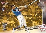 #2: 2017 Topps Now Bonus #HRDB-1 Aaron Judge Baseball Rookie Card - 2017 Home Run Derby Champion - Only 4,039 made!