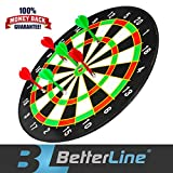 Better Line Magnetic Dart Set With 16″ Dart Board with 6 Darts