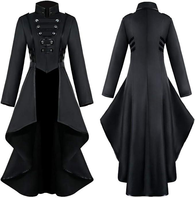 Amazon.com: Crubelon - Chaqueta para mujer, estilo steampunk ...