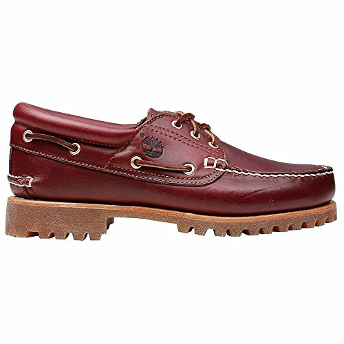 Classic 3 Uomo Barca Scarpe Eye Authentics Brown Timberland da FTwxUpq7