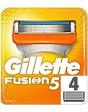 Fusion5 Gillette Do Golenia Dla Mężczyzn, 4 Ostrza Zapasowe,Wielobarwność