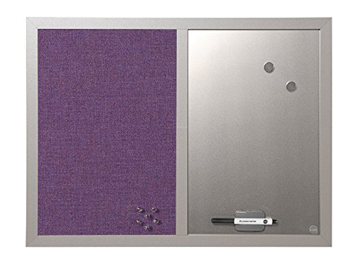 Bi-Office MX04330608 Pannello Lavender Combinato Perla, 60x45, Perla Bi-Silque
