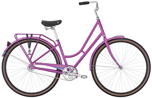 Raleigh Bikes Gala Women's City Bike, 47cm/Md, Purple, 42 cm / Small