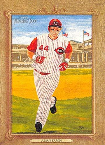 2007 Turkey Red Baseball #21 Adam Dunn Cincinnati Reds Official MLB Trading Card From Topps
