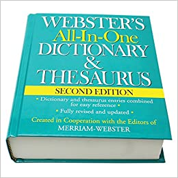 Thesaurus Dictionary Book