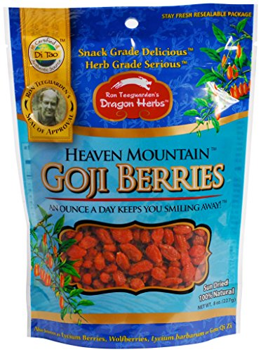 DRAGON HERBS Heaven Mountain Goji Berries, 8 OZ