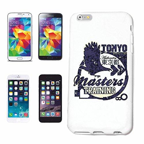 """cas de téléphone iPhone 7+ Plus """"MASTERS TRAINING TOKYO MARTIAL EAGLE EAGLE MMA ARTS IMPORTANTS MIXTES STREET FIGHT FIGHT KARATE SPORTS JUDO WRESTLING"""" Hard Case Cover Téléphone Covers Smart Cover pou"""