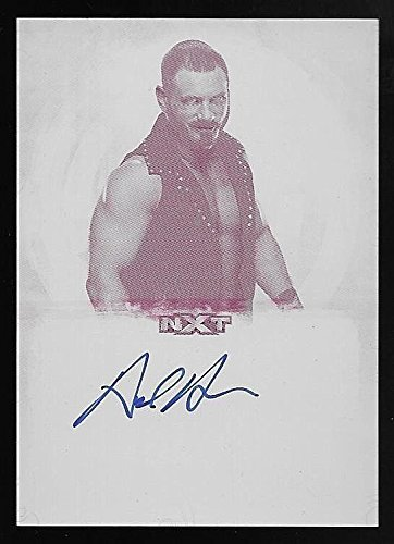 2017 Topps WWE Undisputed #AA Austin Aries Autograph Magenta Printing Plate #1/1