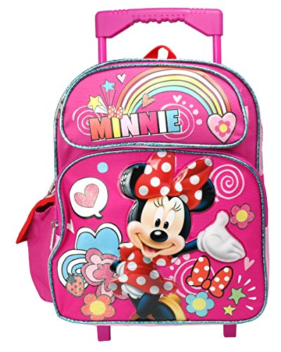 Friends Backpack Rolling (Disney Minnie Mouse 12