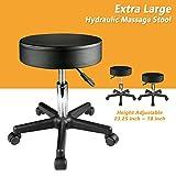 GSV Store Adjustable Salon Stool Hydraulic Rolling Chair Tattoo Dental Facial Massage Spa