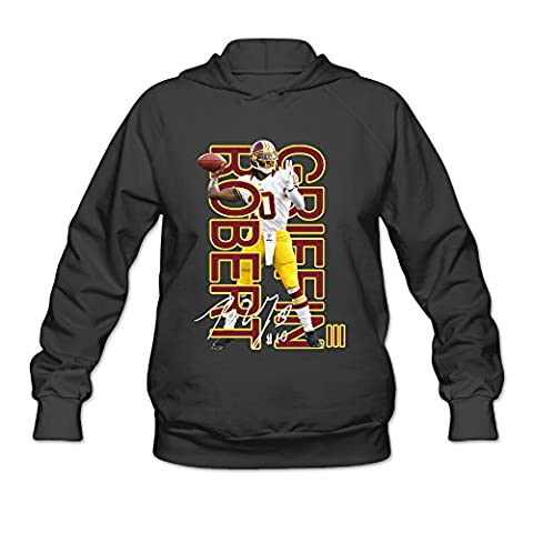 AK79 Women's Hoodies Robert Griffin Iii Redskins Size S Black - Ipod Redskin
