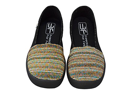 3f freedom for feet Donne Ragazze Slip on Scarpe da Donna