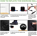 TOPLUS Exercise Ball (Multiple Sizes) Thick Yoga