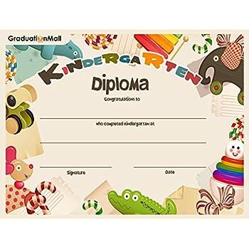 amazoncom kindergarten certificates 60pack