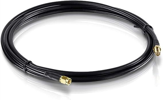 Zu Rp Sma Buchse Antennenkabel 2 M 6 5 Fuß 1 45 Db Maximaler Signalverlust Tew L102