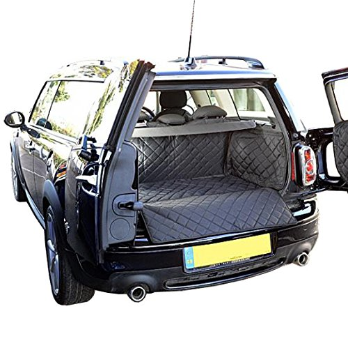 North American Custom Covers Cargo Liner for Mini Clubman - Raised Floor Version (R55) - Quilted, Waterproof & Tailored