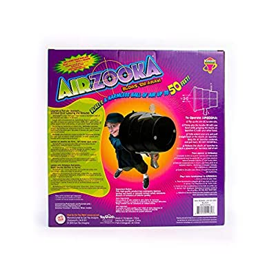 Can You Imagine Airzooka Toy (Black/Silver): Toys & Games