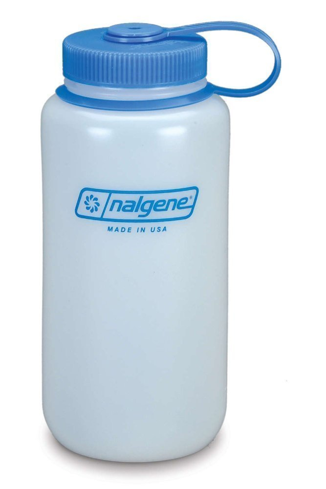 Nalgene 32 oz Reusable Water Bottle, HDPE