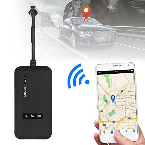 Marketworldcup-Mini Realtime GPS Car Tracker Locator GPRS GSM Tracking Device Vehicle/Truck/Van