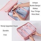 8 Set Packing Cubes - WantGor 6 Travel Organizer