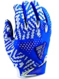 adidas Adizero 5.0 Football Gloves Medium White/Royal