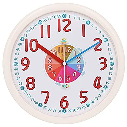 Amazon.com: Y-Hui Wall Clock Clock Children\'S Bedroom Clocks ...
