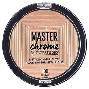 Maybelline Master Chrome Metallic Highlighter Powder - Molten Gold