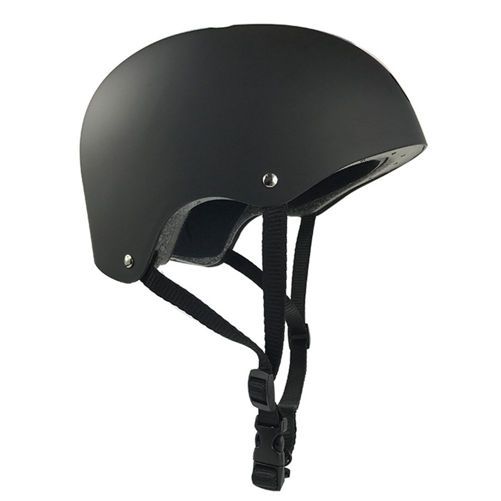 Fengus Child Multi-Sport Helmet for Cycling Skateboarding Skating Rollerblading and Other Extreme Sports Activities(Black)