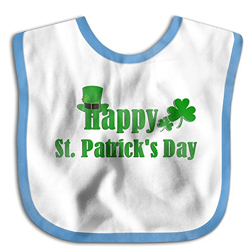 MARIA RODRIGUEZ Happy St.Patrick's Day Soft Unisex Good Quality Babies Toddler Saliva Towel Drool Bibs Baby Bib - Center Vegas Las Shopping