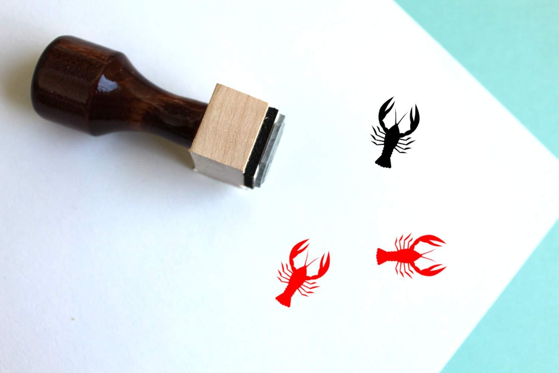 Crawfish Rubber Stamp (2'' x 2'')