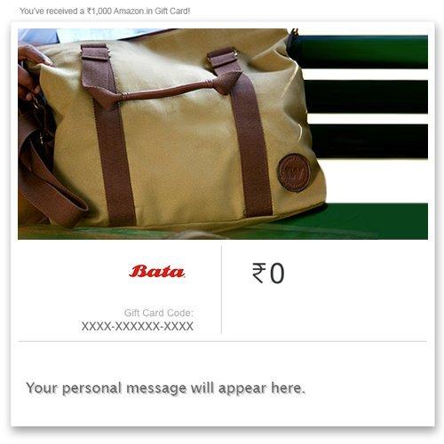 Flat 10% off  Bata Instant Voucher