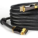 Yellow-price Genuine 50FT HDMI V2.0 Cable Ready-4K@60HZ Braided Zinc Alloy-15M (Local Seller)