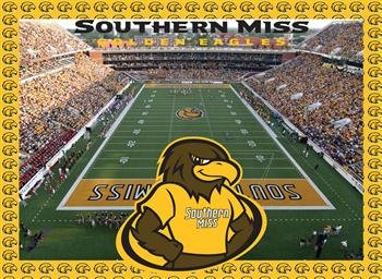 Southern Miss Golden Eagles Jigsaw Puzzle