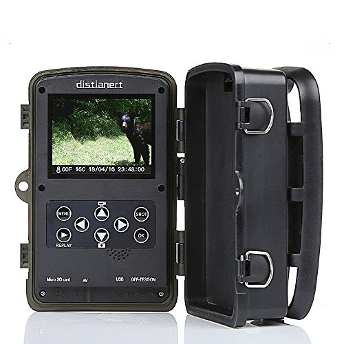 AUTHENTIC Distianert Trail Camera 16MP 1080P Wildlife Game ...