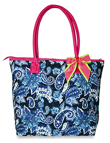 Rosenblue Flora Quilted Tote Bag (Pink)