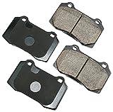 Akebono EUR592 EURO Ultra-Premium Ceramic Brake Pad Set