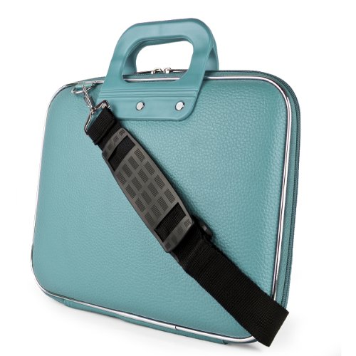 SumacLife Cady Blue Laptop Carrier Bag for HP EliteBook / Elite , Pro x2 / ProBook / Pavilion / Stream / ChromeBook 11