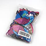 Raylinedo 3D Butterfly 12PCS for Blue and 12 PCS For Purple Stickers Making Stickers Wall Sticker