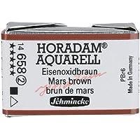 Schmincke Horadam Aquarell Artist Sulu Boya Tam Tablet Seri 2 658 Mars Brown