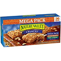 Nature Valley Peanut Butter and Oats 'n Honey, 36 Bars, 1.49 oz