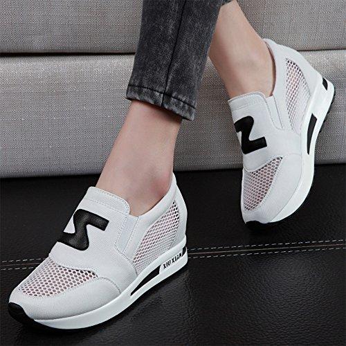 blanco para Slippers mujer CN40 EU39 blanco 5 blanco UK6 Zapatillas 5Cwx1p